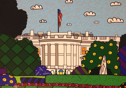 Washington DC By Britto