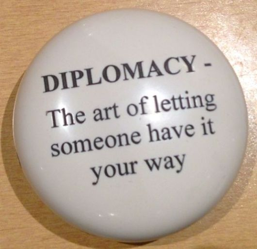 What's Diplomacy Anyway?