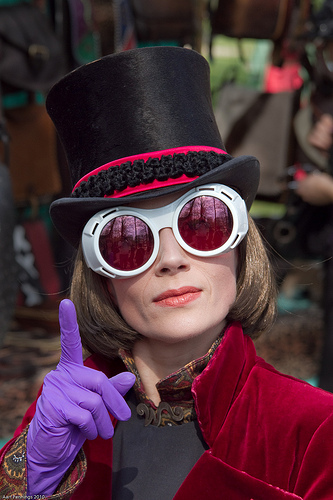 Willy Wonka Wears Google Glass TOO
