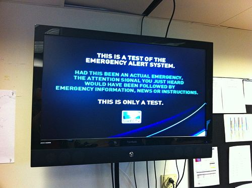 Emergency Alert Or R U Kidding?