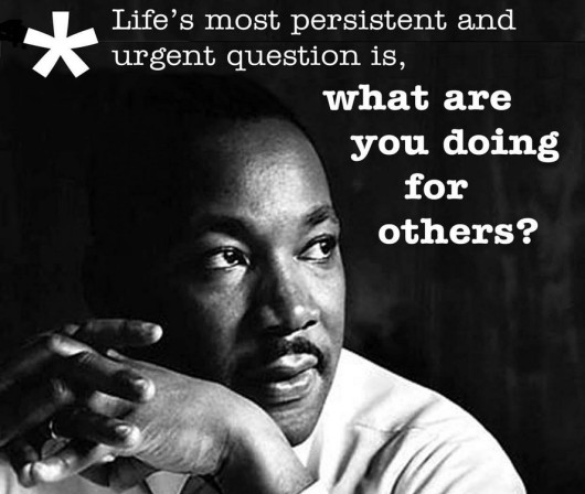 What Would MLK say?