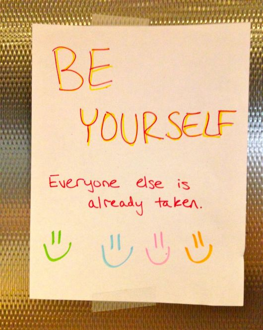 Be, Be Yourself