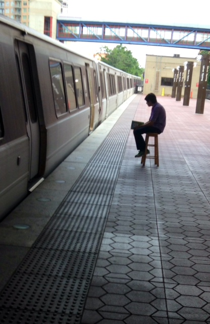 Sitting, Waiting, Metro