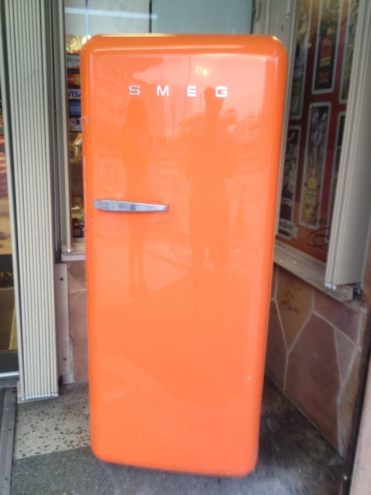 Orange Fridge