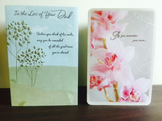 Cards For Dad and Mom