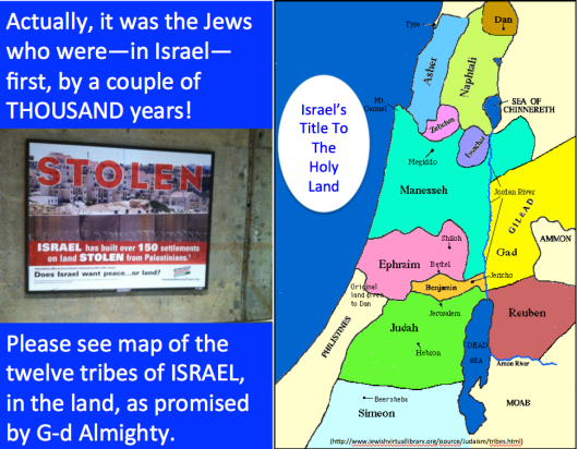Israel's Title