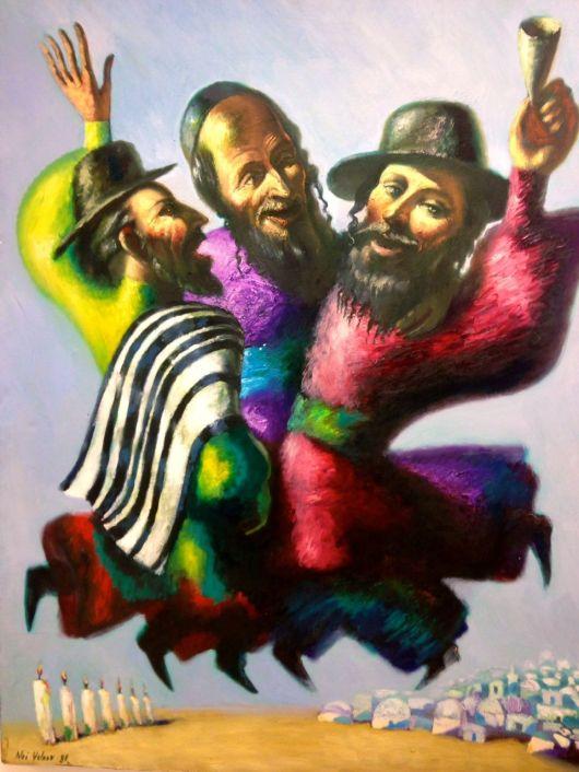 Chassidim Dancing