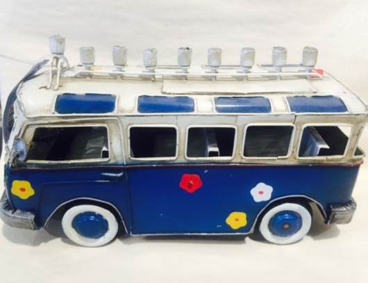 Hippie Bus Menorah