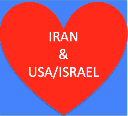 Iran Loves USA and Israel