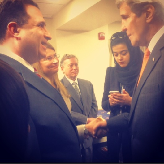 Secretary John Kerry and Andy Blumenthal.jpeg.jpg