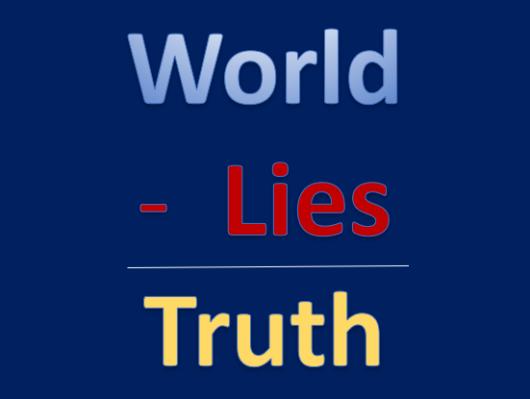 Worlid Lies Truth