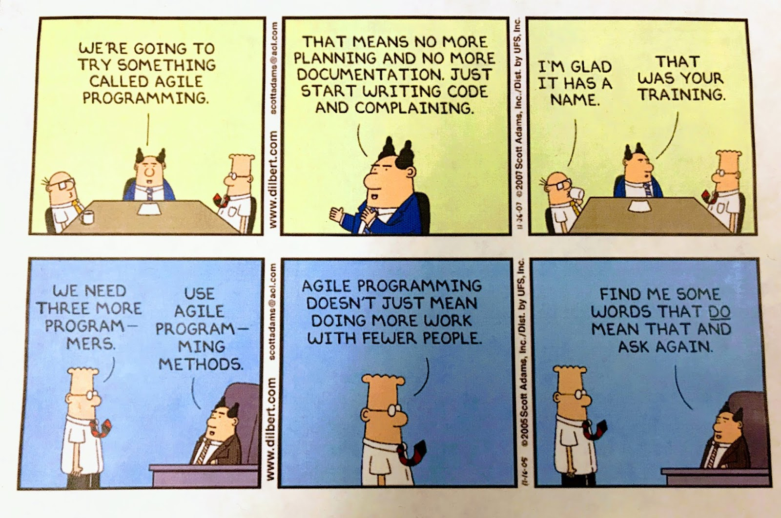 Agile Doesnt Mean Endless